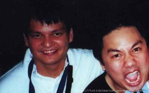 my former partners in Quiapo vintage watch expeditions Agu P(now editor of Men's health and also the guy responsible for the Groove Nation logo) and Karlo S.( husband and writer at large)