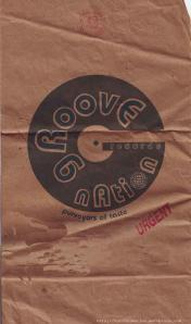 the Groove Nation paper cd bag