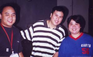 3 of the still,very active and loyal Groove Nation people around. Mario and Gina S., Cyril Y.