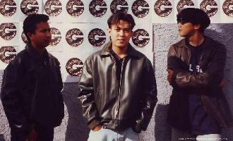 the original Groove Nation partners. Arnel F.,Alde A. and myself.