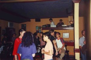 The Verve Room where Mario was the resident dj and yours truly guested every now and then.
